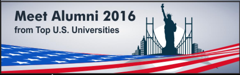 MEET ALUMNI 2016 from Top U.S. Universities