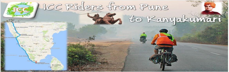 Pune to Kanyakumari on cycle
