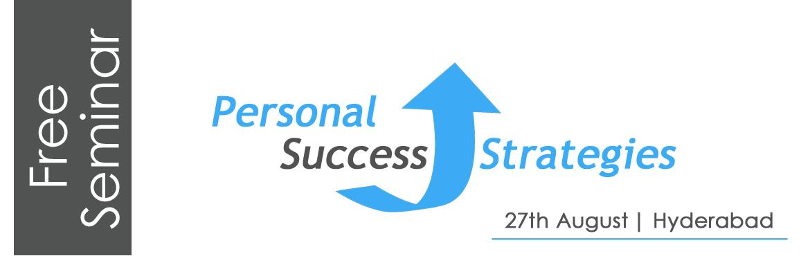 Free Seminar: Personal Success Strategies