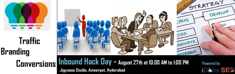 Inbound Hack Day - Marketing Strategy on own ideas