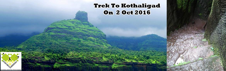 Trek To Kothaligad Fort
