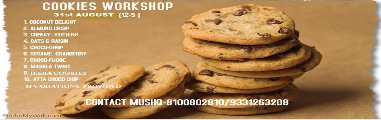 Eggless Cookies Workshop
