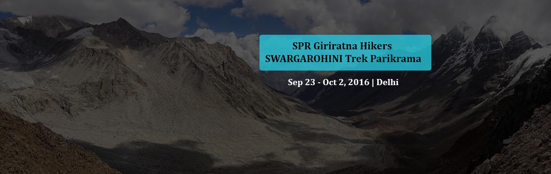 SPR Giriratna Hikers SWARGAROHINI  Trek Parikrama