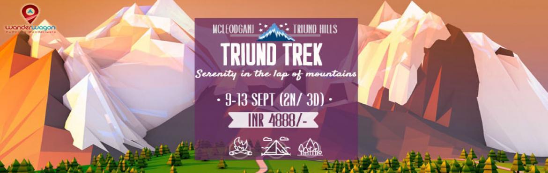 McleodGanj - Triund Hill Trek on 09 September 2016