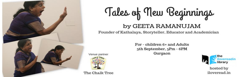 Storytelling by Geeta Ramanujam in Gurgaon