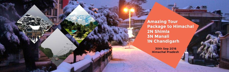 Amazing Tour Package to Himachal 2N Shimla ,3N Manali ,1N Chandigarh