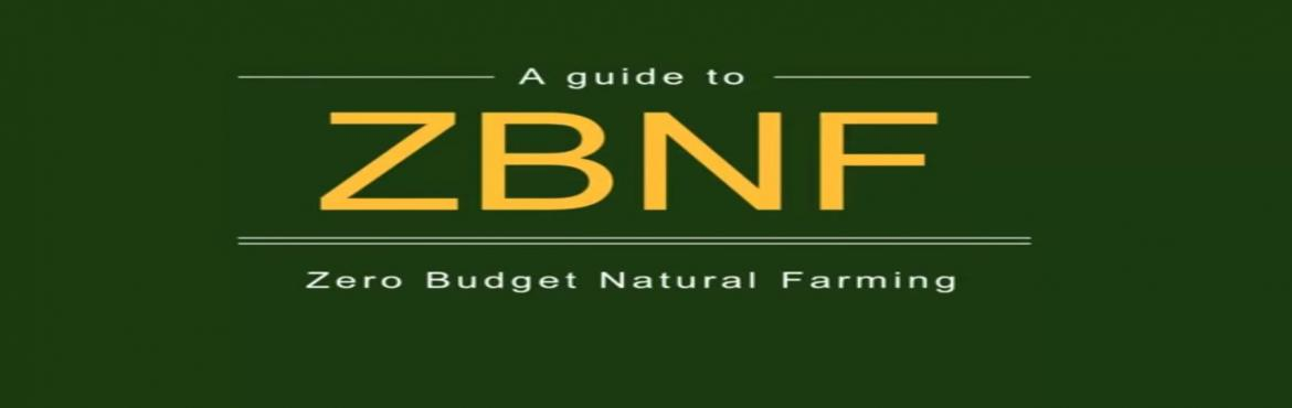 ZBNF ( Zero Budget Nature Farming)  Discussion and Training by Chandrashekar Kadadi