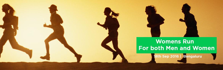 3rd Sunday Womens Run September - For both Men and Women
