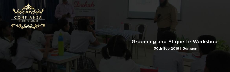 Grooming and Etiquette Workshop