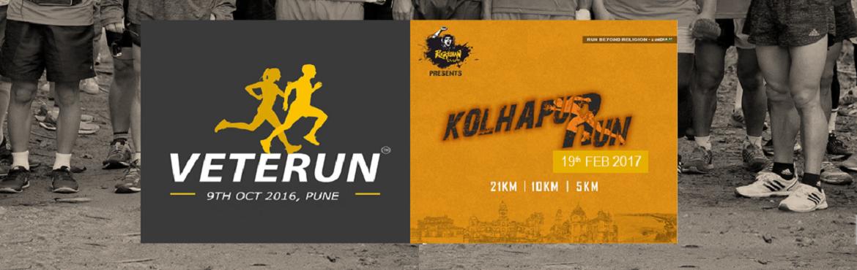 VETERUN 2016 + Kolhapur Run 2017