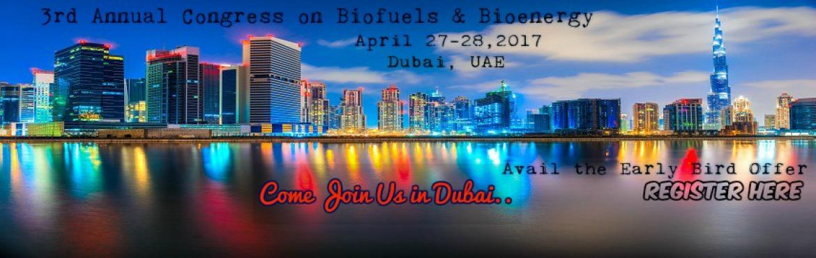 3rd Annual Congress on Biofuels and Bioenergy - 2017 copy copy