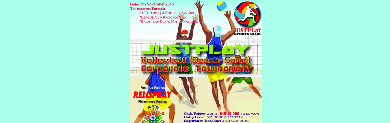 Volleyball (Beach-Sand) - Corporate Tournament