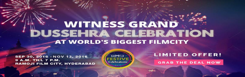 Ramoji Film City Plans Grand Dussehra and Diwali Celebrations