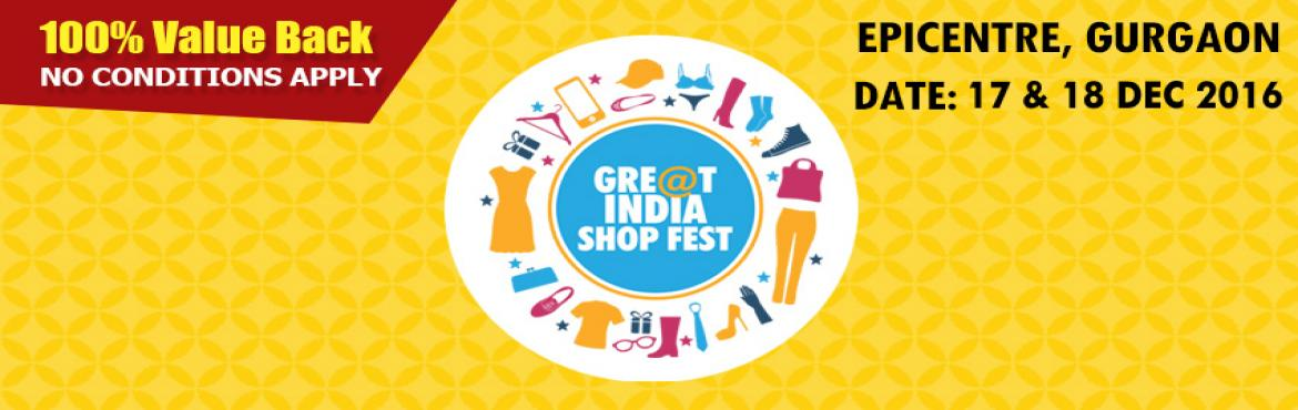 Great Indian online shopping festival in Gurgaon