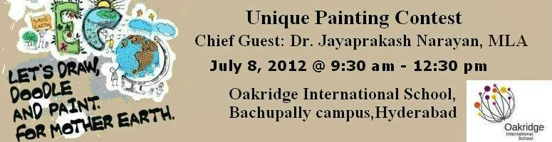 Unique Painting Contest by Oakridge International School