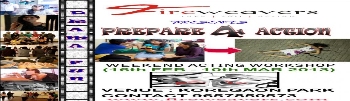 Weekend Acting Workshop - Prepare for Action
