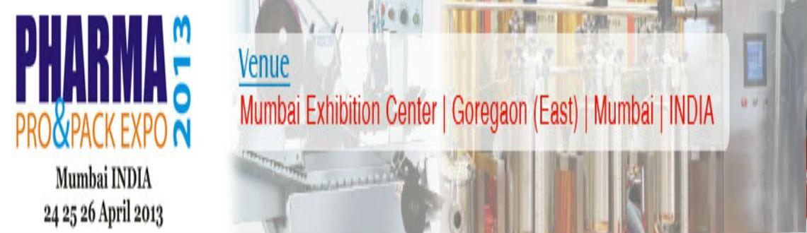PHARMA Pro & Pack Expo 2013