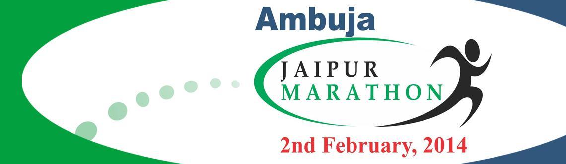 Ambuja Jaipur Marathon 2014