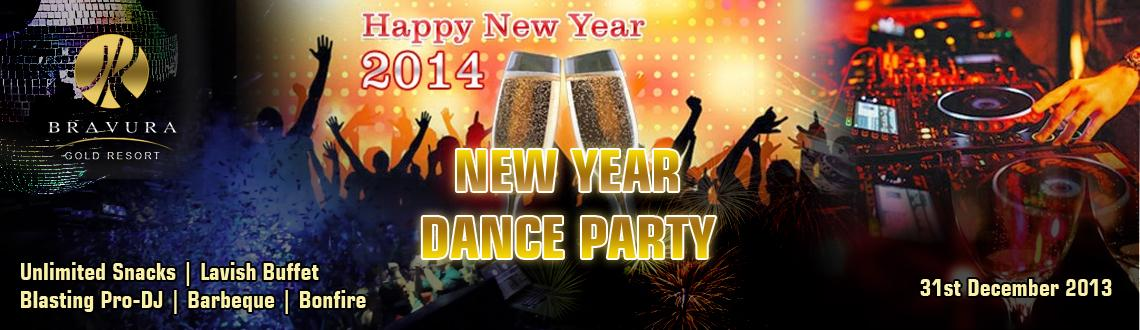 New Year Dance Party 2014 @ Meerut