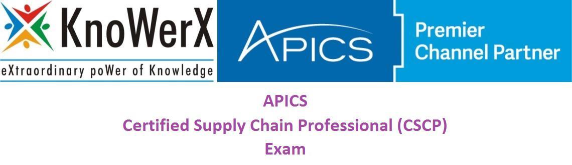 APICS CSCP Exam
