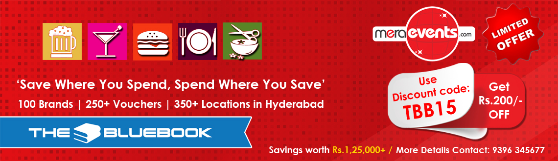 MeraEvents - BlueBook Hyderabad