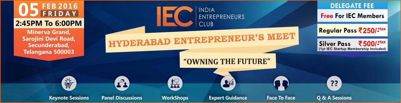 Hyderabad Entrepreneurs Meet