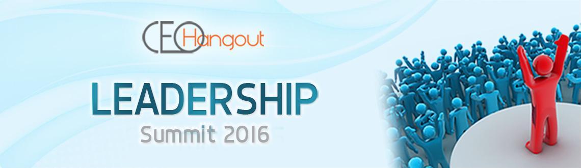 Leadership Summit 2016 Bangalore