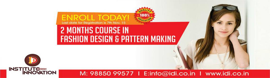 2 Months Fashion Designing course by Instituto Design Innovation
