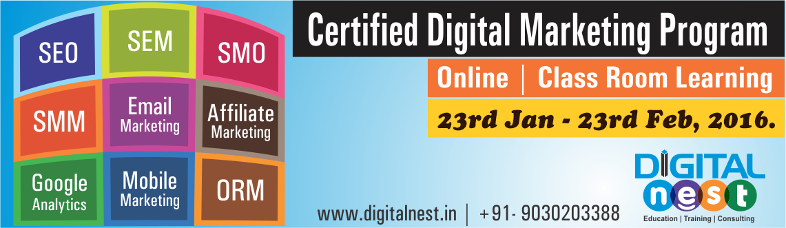 Certified Advanced Digital Marketing Course