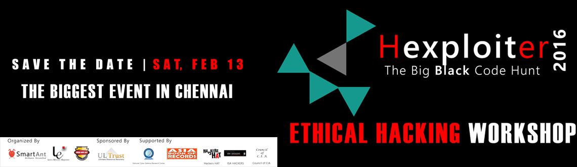 HEXPLOITER 2016 - Ethical Hacking Workshop