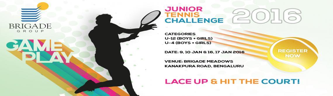Brigade Junior Tennis Challenge 2016