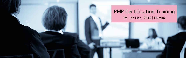 PMP Certification Training-Mar2016-Mumbai