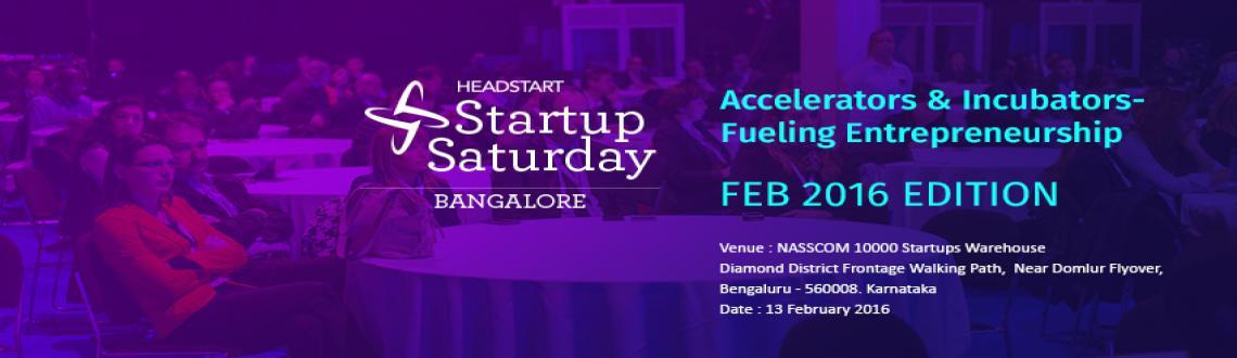 Startup Saturday Bangalore - February Edition