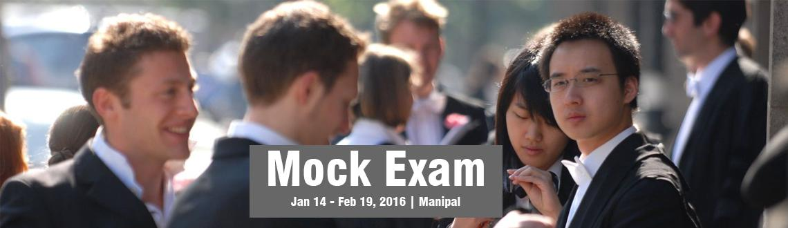 Mock Exam - 5th  6th March 2016 KMC Manipal