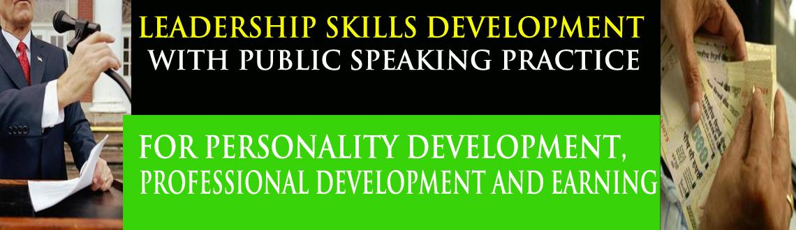 Leadership Skills Development with Public Speaking Practice