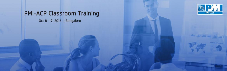PMI-ACP Classroom Training In Bangalore