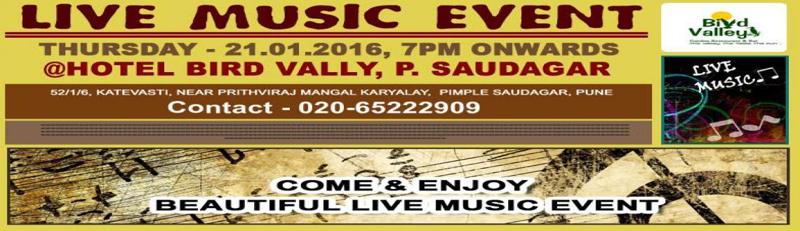 Live music events in Pune @Hotel Bird Valley, Pimple Saudagar