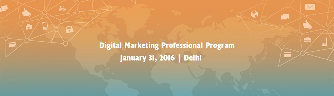 Digital Marketing Professional Program in association with Google, Delhi, India