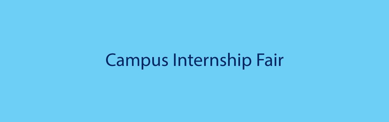 campus internship fair