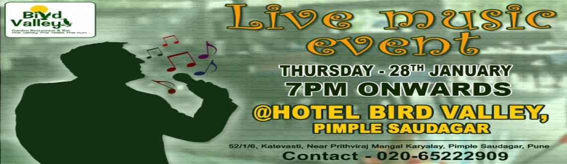 Thursday upcoming events in Pune, Pimple Saudagar @Hotel Bird Valley