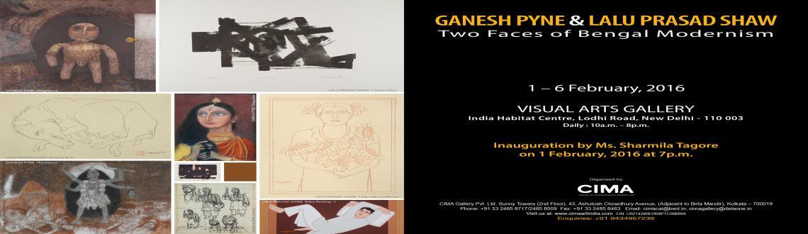 Ganesh Pyne  Lalu Prasad Shaw: Two Faces of Bengal Modernism