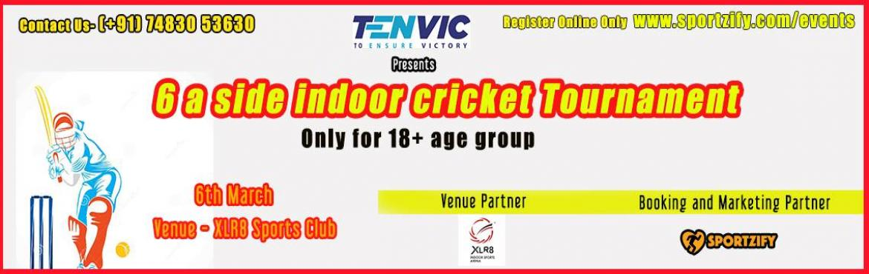 6 A Side Indoor Cricket Tournament - Bangalore