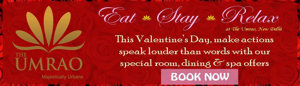 Valentine celebration at Umrao