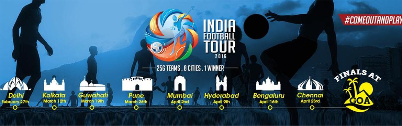 India Football Tour - Hyderabad