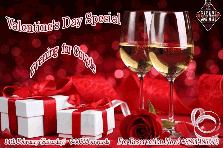 Valentines Day Special: Perfect Romantic Evening at SAFARI