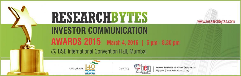 Researchbytes Investor Communication Awards