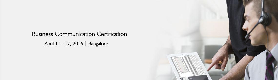 Business Communication Certification