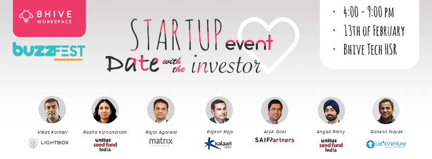 Bhive buzz fest - Date with the investor