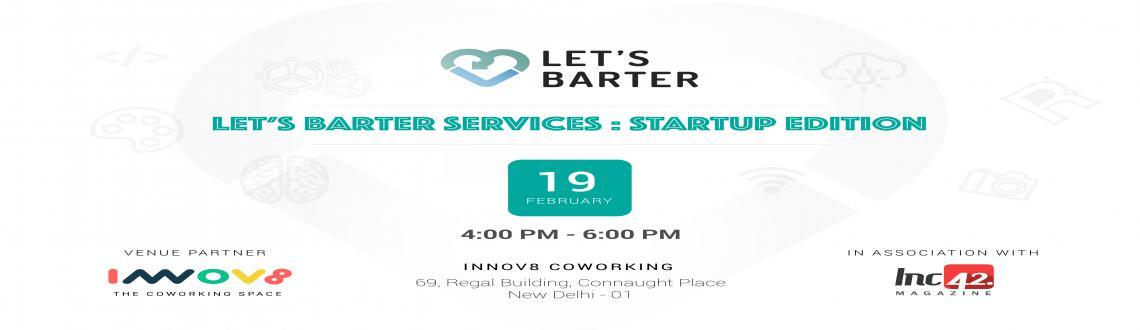 Lets Barter Services :: Start up edition
