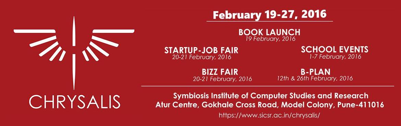 Chrysalis 2016 (Startup Job Fair) - walking interview, Internship
